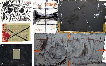 Illustriertes Buch Tàpies - COLLECTION COMPLÈTE des 7 volumes de la revue DERRIÈRE LE MIROIR consacrés à Antoni Tàpies: 30 LITHOGRAPHIES (de 1967 à 1982).