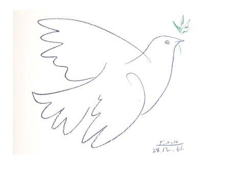 Lithographie Picasso (After) - Colombe de la Paix