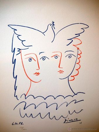 Lithographie Picasso (After) - COLOME 1956