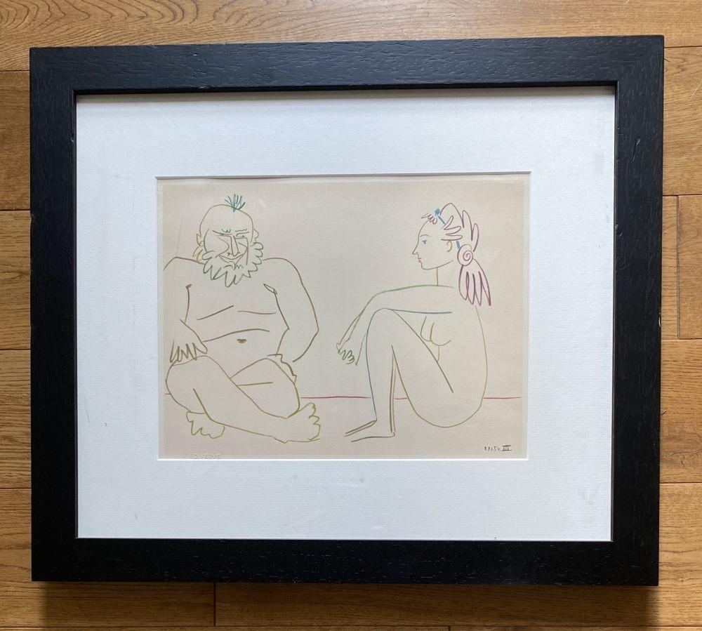 Keine Technische Picasso - Comédie Humaine 27/1/54.XIV