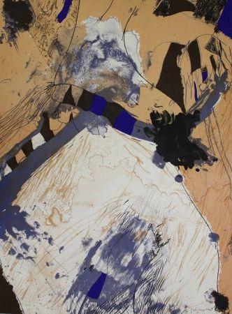 Lithographie Guinovart - Com muntanya