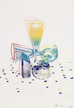 Siebdruck Warhol - Committee 2000