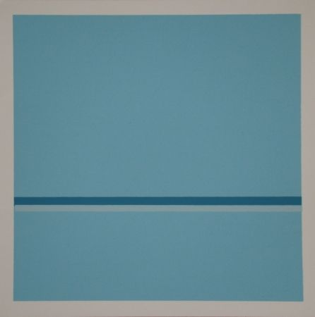 Siebdruck Calderara - Composition