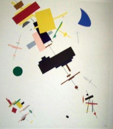 Lithographie Malevitch - Composition