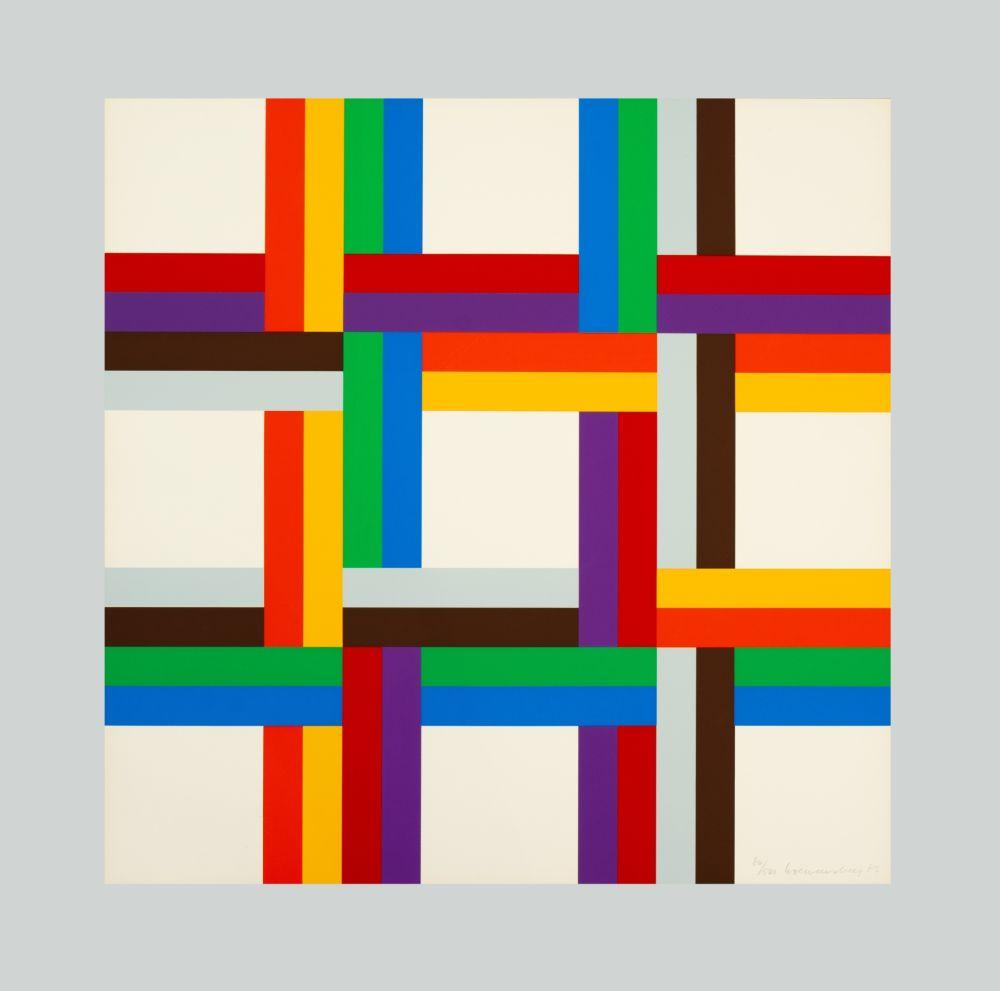 Siebdruck Loewensberg - Composition
