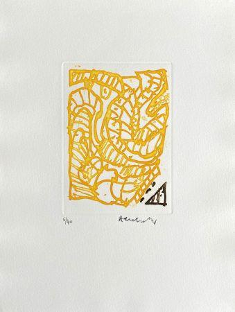 Stich Alechinsky - Composition