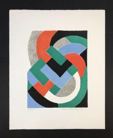 Siebdruck Delaunay - Composition