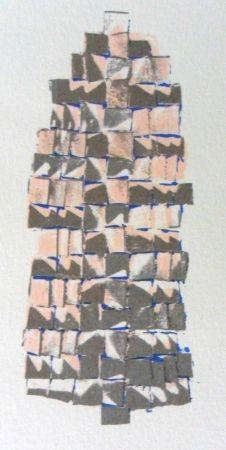 Lithographie Piza - Composition