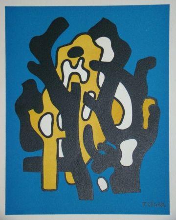 Lithographie Leger - Composition