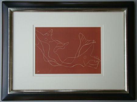 Linolschnitt Laurens - Composition
