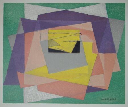 Lithographie Villon - Composition