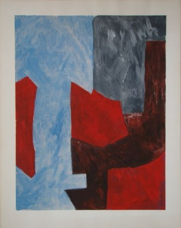 Lithographie Poliakoff - Composition
