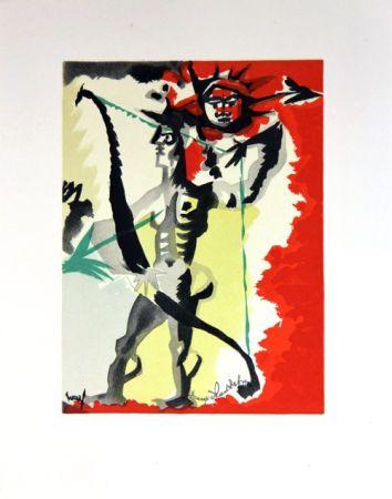 Lithographie Lurcat - Composition