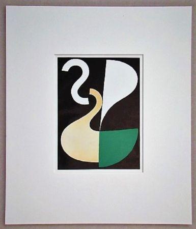 Lithographie Taeuber-Arp - Composition