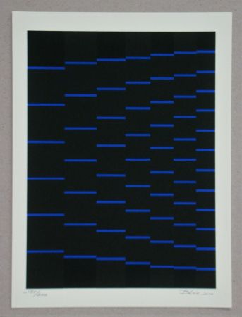 Siebdruck Bézie - Composition