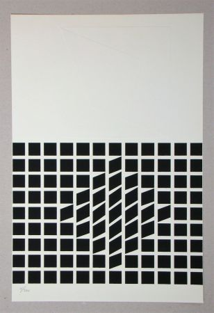 Siebdruck Vasarely - Composition