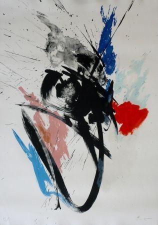 Lithographie Miotte - Composition 110