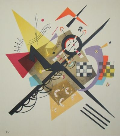 Lithographie Kandinsky - Composition, 1922