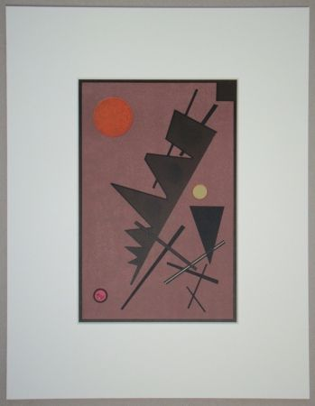 Lithographie Kandinsky - Composition, 1924