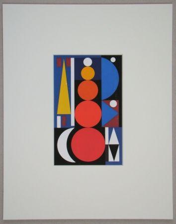 Siebdruck Herbin - Composition, 1949