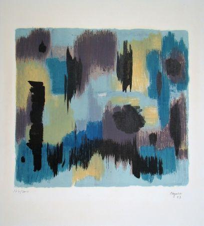 Lithographie Bazaine - Composition, 1957