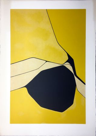 Lithographie Palazuelo - Composition 1963