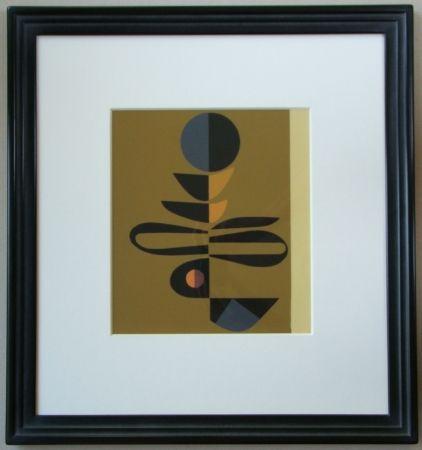 Siebdruck Pillet - Composition, 1967