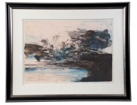 Lithographie Zao - Composition 207
