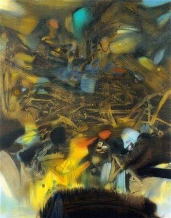 Lithographie Chu Teh Chun  - Composition 6