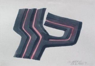 Keine Technische Ubac - Composition Abstraite 1