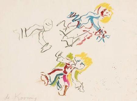 Lithographie De Kooning - Composition for Lisa