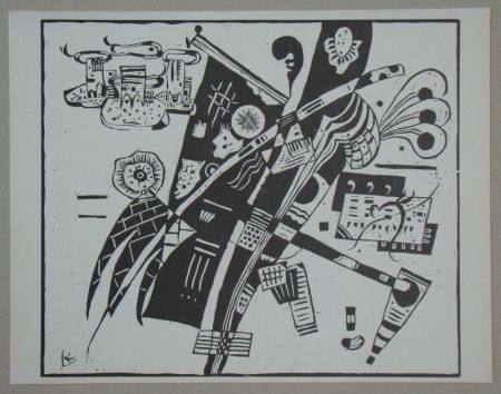 Holzschnitt Kandinsky - Composition from 1935