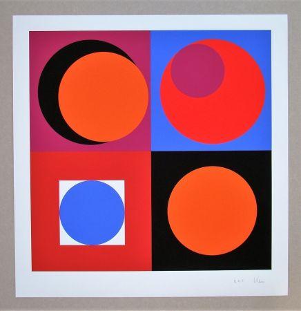 Siebdruck Claisse - Composition géométrique