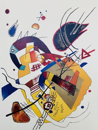 Lithographie Kandinsky - Composition II