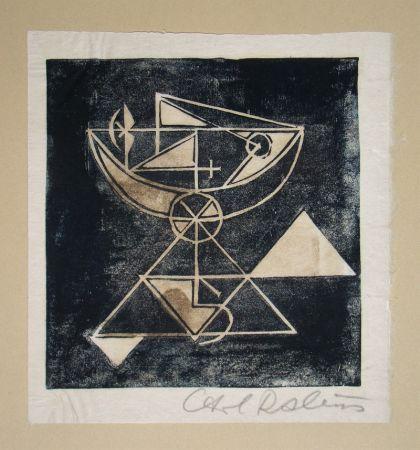 Holzschnitt Rabus - Composition pour Art Abstrait