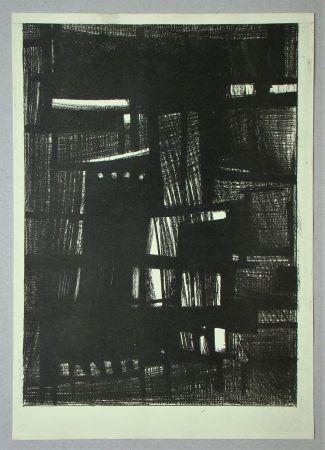 Lithographie Burssens - Composition pour Art Abstrait