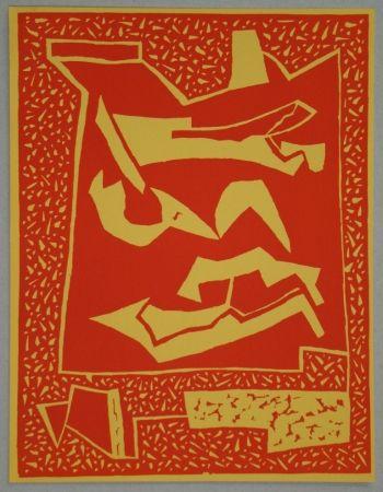 Holzschnitt Magnelli - Composition pour XXe Siècle