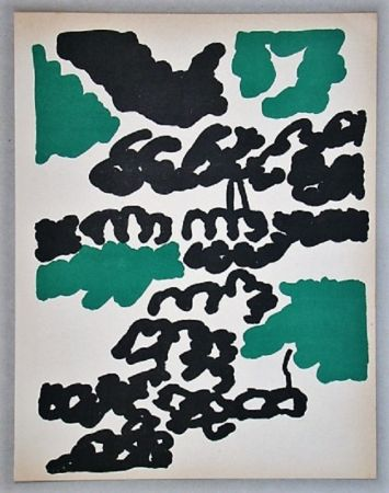 Lithographie Lapicque - Composition pour XXe Siècle