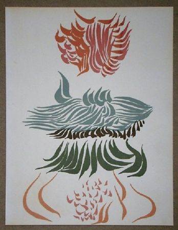 Lithographie Herold - Composition pour XXe Siècle