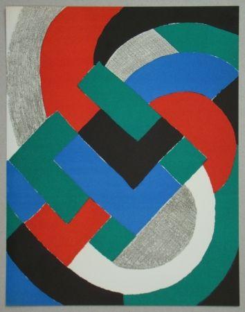 Lithographie Delaunay - Composition Pour Xxe Siècle, 1969