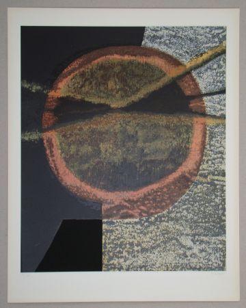 Siebdruck Piaubert - Composition V.-1964