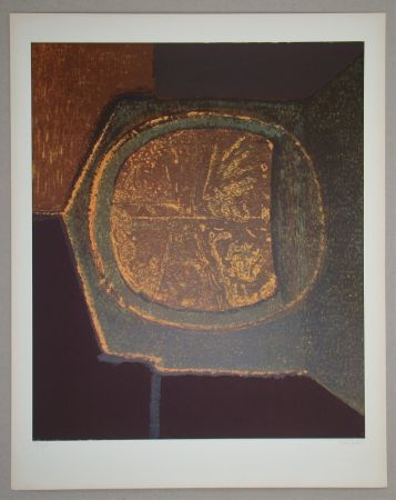 Siebdruck Piaubert - Composition VI.-1964