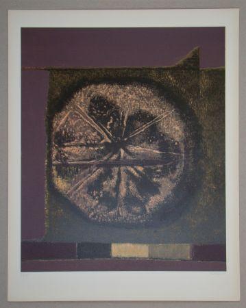 Siebdruck Piaubert - Composition VII.-1964