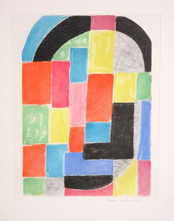 Stich Delaunay - Composition with Arc