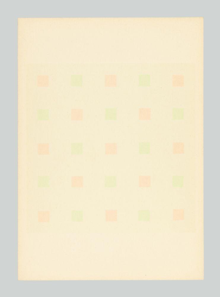 Siebdruck Calderara - Composizione
