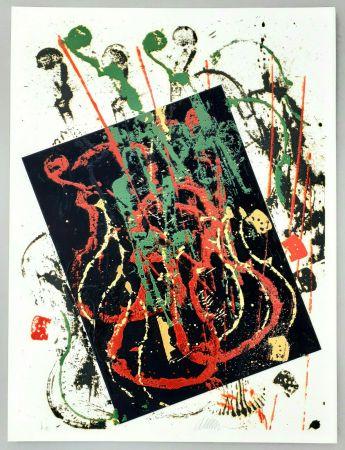 Siebdruck Arman - Composizione
