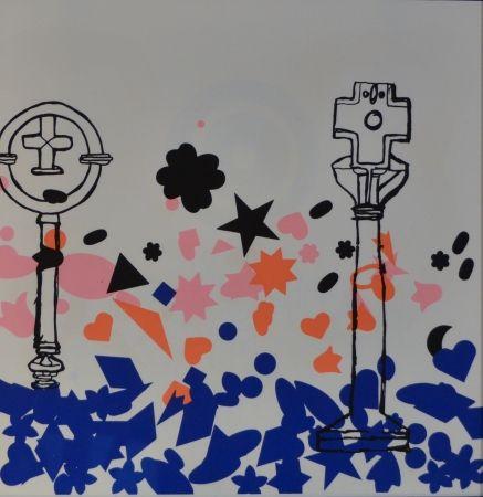 Lithographie Baj - Composizione