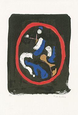 Lithographie Marini - Composizione