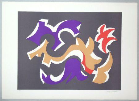 Lithographie Mastroianni  - Composizione