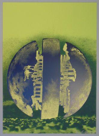 Lithographie Pomodoro - Composizione